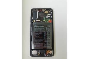 Дисплейный модуль, экран, дисплей для Huawei P20 Pro (CLT-L29) Black (orig)