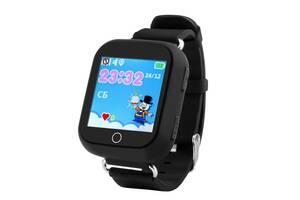 Дитячі розумні GPS-годинник Smart Baby Watch Q100s Black