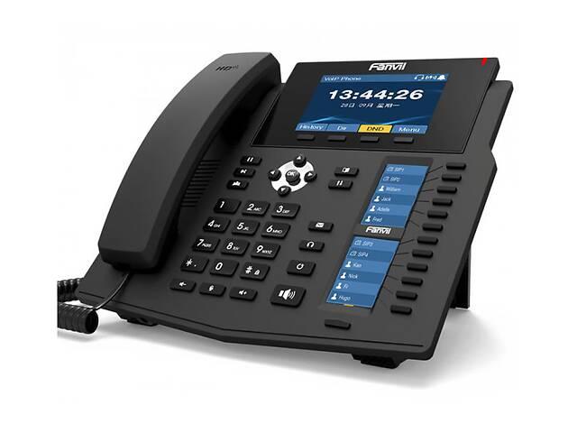 Fanvil X6U, sip телефон премиум класса, 20 SIP-аккаунтов, RJ9, USB, PoE (запись телефонных разговоров)- объявление о продаже  в Киеве