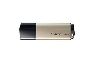 Флеш-накопитель USB 3.0 64GB Apаcer AH353 Gold (AP64GAH353C-1)