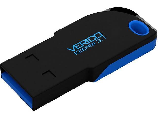 Флешка на 16 GB USB Flash Verico Keeper USB 3.1 16 Gb Black Blue VrcF_58231- объявление о продаже  в Киеве