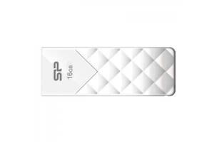 Флешка Silicon Power 16Gb Ultima U03 White (SP016GBUF2U03V1W)