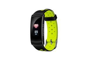 Фитнес-браслет Canyon CNS-SB41 Black/Green; 0.96 (160х80) LCD сенсорный / Bluetooth 4.0 / 48 х 22 х 12 мм, 25 г / IP6...