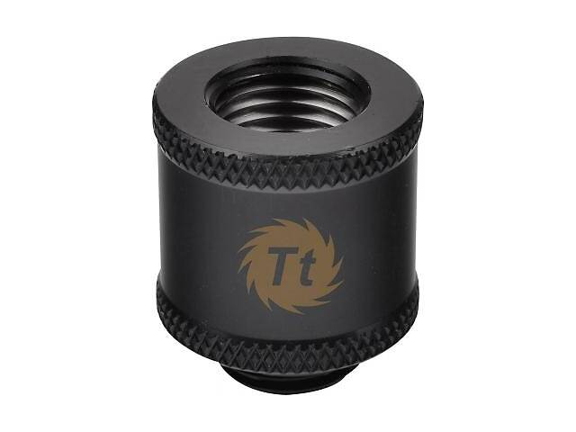 купить бу Фитинг для СВО ThermalTake Pacific G1/4 Female to Male 20mm Extender - Black (CL-W046-CU00BL-A) в Харькове
