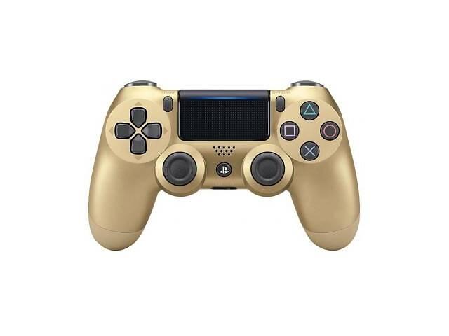 купить бу Геймпад SONY PS4 Dualshock 4 V2 Gold в Киеве