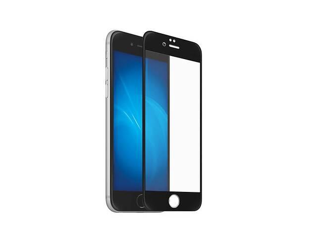 купить бу Гнеться Захисне 5D Скло для Apple iPhone 6/6s Plus Чорний | Повне покриття | айфон 6 плюс в Харкові