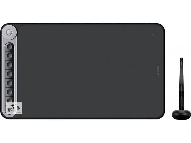 """купить бу Графический планшет Huion Inspiroy Dial Q620M беспроводной 12"""" Черный (Q620M) в Киеве"""