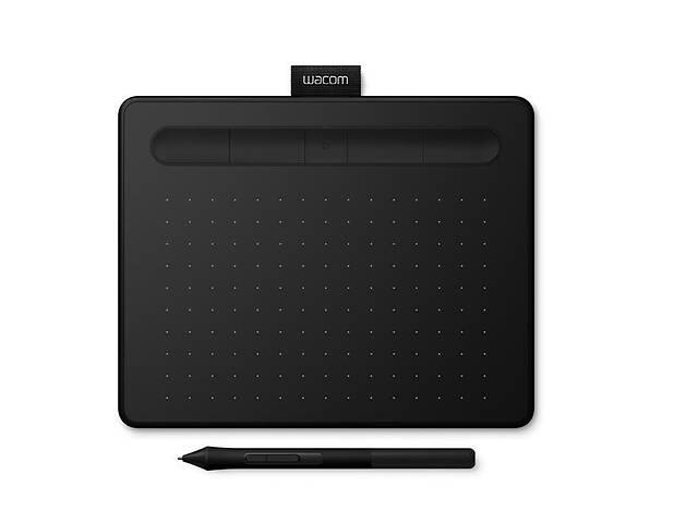 купить бу Графический планшет Wacom Intuos S Bluetooth Black (CTL-4100WLK-N) в Харькове