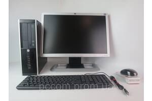 """HP Compaq 6300 4х ядерный CORE i5-3470-3.20GHz / 4GB RAM + 20"""" HP L2045w TN"""