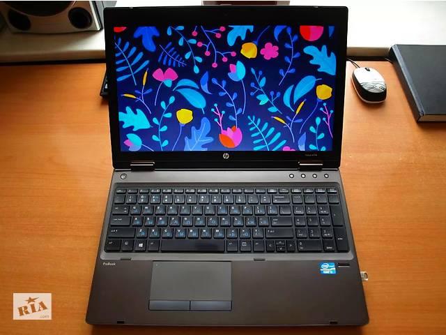 HP ProBook l Игровой, надёжный, мощный алюминиевый ноутбук из Европы
