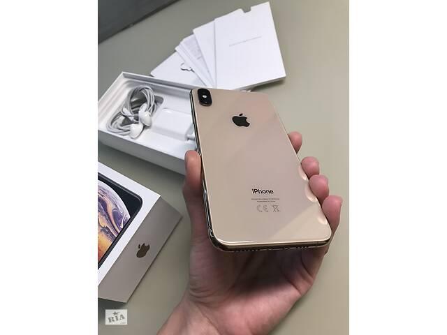 бу IPhone XS Max 64Гб, Золотой б / у в Виннице
