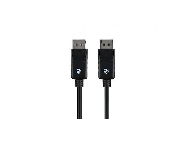 купить бу Кабель мультимедийный DisplayPort to DisplayPort 1.0m 2E (2E-W1703) в Киеве