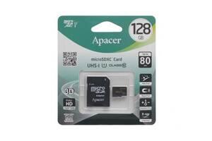 Карта Памяти Apacer MicroSDXC 128gb 10 Class и Adapter SKL11-280195