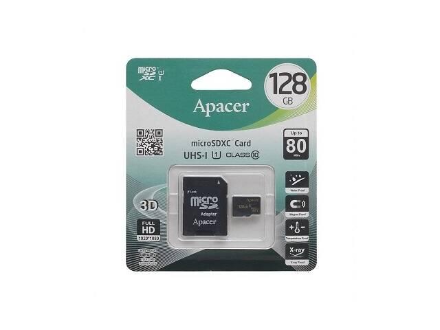 бу Карта Памяти Apacer MicroSDXC 128gb 10 Class и Adapter SKL11-280195 в Киеве