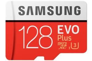 Карта памяти на 128 GB Samsung EVO Plus microSD C10 UHS-I%5b%5d SmsngMB-MC128GA/RU