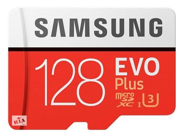 бу Карта памяти на 128 GB Samsung EVO Plus microSD C10 UHS-I%5b%5d SmsngMB-MC128GA/RU в Киеве