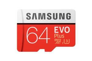 Карта памяти на 64 GB Samsung EVO Plus microSD C10 UHS-I%5b%5d SmsngMB-MC64GA/RU