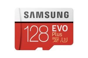 Карта памяти Samsung 128GB microSDXC class 10 UHS-I EVO Plus (MB-MC128HA/RU)