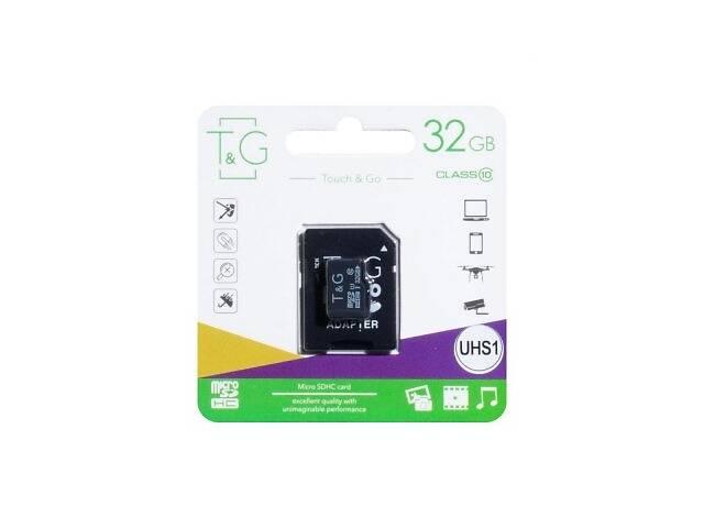 купить бу Карта Памяти TG MicroSDHC 32gb 10 Class и Adapter SKL11-280213 в Киеве