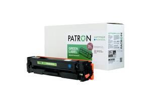 Картридж PATRON HP CLJ CF401X для M252/M274/M277 Cyan, GREEN Label (PN-201XCGL)