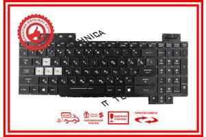 Клавіатура ASUS TUF FX705 FX705D FX705G FX705A FX705DY FX705DD FX705DU Черная с красной подсветкой RUUS