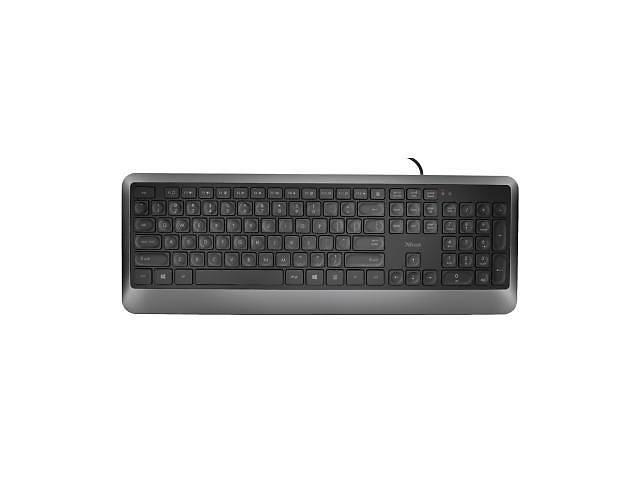 Клавиатура Trust Erou Silent UKR Black (23176)- объявление о продаже  в Харькове