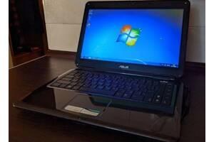 Компактный ноутбук небольшого размера Asus K40IJ  с отличными характеристиками.
