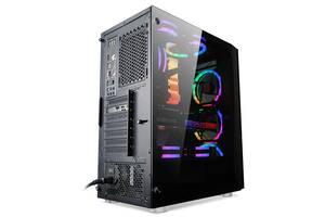 Корпус 1stPlayer B7-R1 Color LED Black без БП
