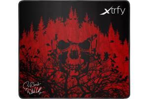 Коврик для мышки Xtrfy XTP1 f0rest Large, Black-Red (XTP1-L4-FO-1)