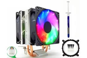 Кулер охлаждения процессора Snowman m200 LED-подсветка