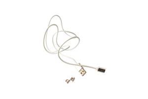 Магнитный кабель для зарядки смартфона/телефона USB MAGNETIC Cable LP 8-pin micro USB 1.2 м Белый
