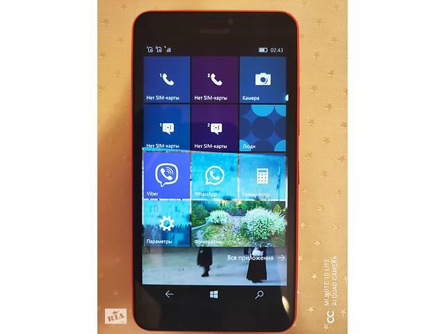 """продам Microsoft Lumia 640XL 5.7"""". Dual sim. NFC бу в Киеве"""
