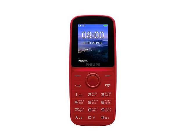 продам Мобильный телефон PHILIPS Xenium E109 Red бу в Харькове