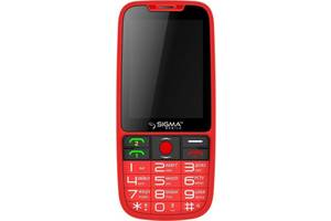 Мобильный телефон Sigma mobile Comfort 50 Elegance3 Red