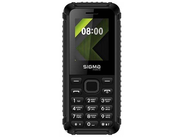 купить бу Мобильный телефон Sigma mobile X-style 18 Track Dual Sim Black; 1.77 (160х128) TN / клавиатурный моноблок / microSD д... в Харкові