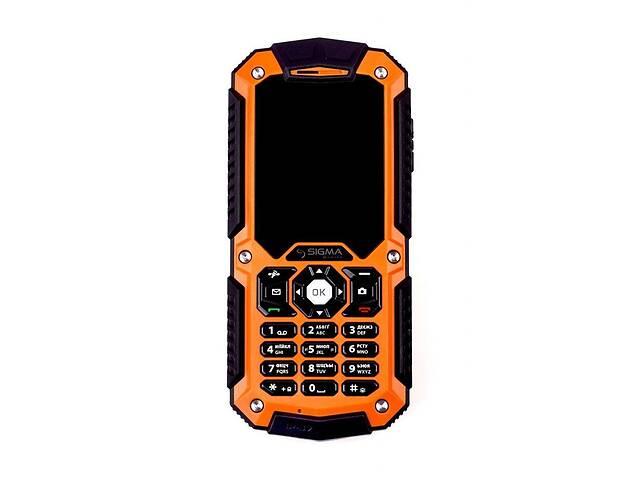 продам Мобильный телефон Sigma mobile X-treme IT67M Black-Orange бу в Києві