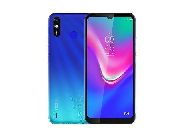 купить бу Мобильный телефон TECNO BB4k (Spark 4 Lite 2/32Gb) Vacation Blue (4895180754586) в Харькове