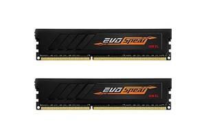 Модуль памяти для компьютера DDR4 16GB (2x8GB) 3000 MHz EVO SPEAR GEIL (GSB416GB3000C16ADC)