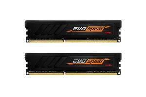 Модуль памяти для компьютера DDR4 16GB (2x8GB) 3200 MHz EVO SPEAR GEIL (GSB416GB3200C16ADC)