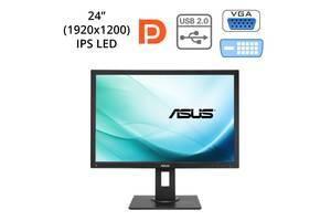"""Монитор Asus BE24AQLB / 24"""" (1920x1200) IPS LED / 1x DP, 1x DVI, 1x VGA, USB-Hub / встроенные колонки 2х 2W"""