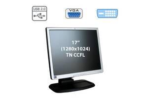 """Монитор HP L1740 / 17"""" (1280x1024) TN CCFL / 1x DVI-I, 1x VGA, USB-Hub"""