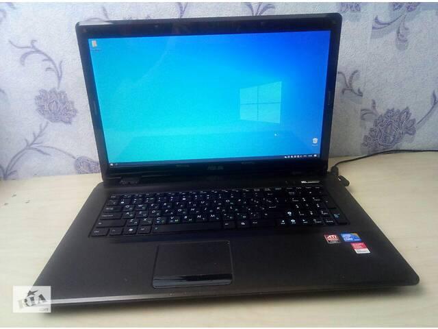 купить бу Мощный ноутбук в идеальном состоянии с большим экраном Asus K72JR в Киеве