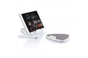 Набор подставка для планшета со стилусом серая Нидерланды 410717