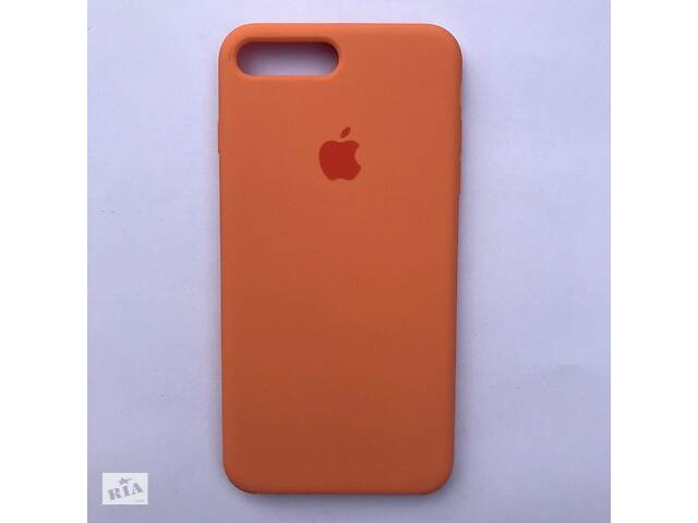 продам Чехол Silicone Case для Apple iPhone 7 Plus, 8 Plus Papaya бу в Харькове