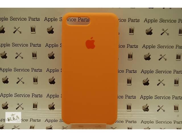купить бу Чехол Silicone Case для Apple iPhone 7 Plus, 8 Plus Papaya в Харькове