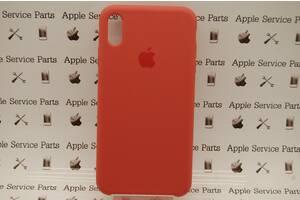 Чехол Silicone Case для Apple iPhone XS Max Cherry