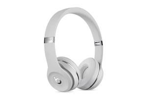 Наушники Bluetooth Beats Solo3 Wireless Headphones A1796 Satin Silver