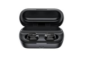 Навушники Baseus Encok True Wireless Earphones W01 Black