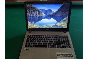 Ноутбук Acer Aspire F5-573G-50XB (NX.GDAEU.017) Silver