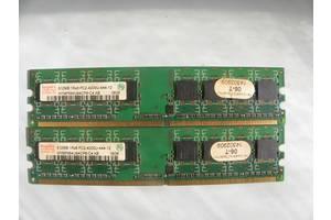 Оперативная память Hynix DDR2 512MB 1Rx8 PC2-4200U-444-12